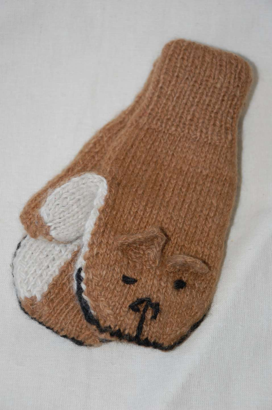 Double And Reversible Children S Mittens Pachamama Canada