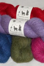Handmade light weight yarns, natural dyes