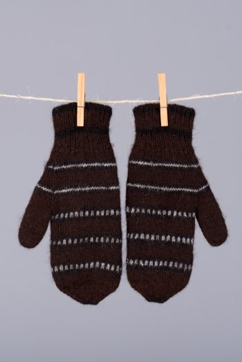 mitaines doubles et réversibles / double thickness reversible mittens