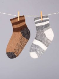 bas doubles et réversibles, confort / double and reversible bed socks