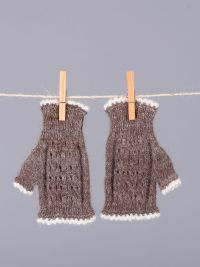 mitaines courtes sans doigt / short fingerless mittens