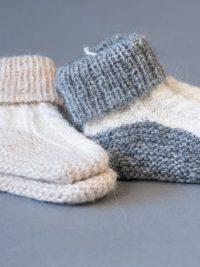 chaussons bebe / baby bootees