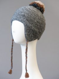 tuque andine avec pompon amovible / andean hat with removable pompom