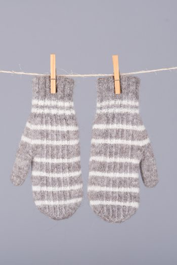 mitaines doubles et réversibles / double thickness reversible mittens