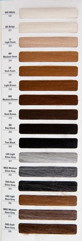 variété de couleurs naturelles / natural colors variety