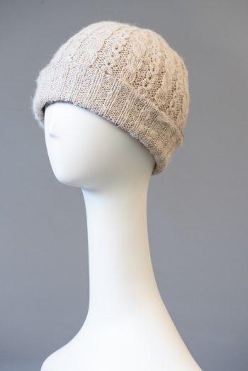 tuque double à rebord, unie / double brim hat, solid