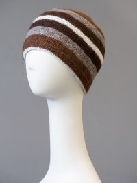 tuque double, rayée / double thickness hat, striped